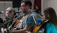 """members of """"The River Drivers"""" pack the house for their CD release party at Ancient Order of the Hibernian in Bristol, Pa, Saturday, April 4, 2015. Photo by Bryan Woolston."""