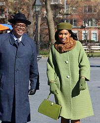 "Jennifer Hudson as Aretha Franklin, Forrest Whitaker filming ""Respect"". 14 Feb 2020 Pictured: Jennifer Hudson, Forrest Whitaker. Photo credit: SteveSands/NewYorkNewswire/MEGA TheMegaAgency.com +1 888 505 6342"