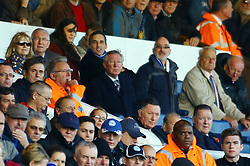 Sir Alex Ferguson in the stands at London Road - Photo mandatory by-line: Joe Dent/JMP - Tel: Mobile: 07966 386802 02/11/2013 - SPORT - FOOTBALL - London Road Stadium - Peterborough - Peterborough United v Leyton Orient - Sky Bet League One