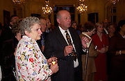 Barbara Peters and James Gillespie, Flora Fraser launch party for her book ' Princesses the Daughters of George 111' the Savile club, Brook St. 14 September 2004. SUPPLIED FOR ONE-TIME USE ONLY-DO NOT ARCHIVE. © Copyright Photograph by Dafydd Jones 66 Stockwell Park Rd. London SW9 0DA Tel 020 7733 0108 www.dafjones.com