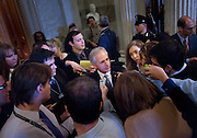 Dec 13, 2010 - Washington, District of Columbia, U.S. -  Senator BOB CORKER (R-TN) speaks to reporters after voting in favor of President Barack Obama's tax compromise with Republicans on Monday.  Todays vote was the first major test for the $858 billion bill, which renews the Bush-era tax cuts for all Americans.. (Credit Image: © Pete Marovich/ZUMA Press)