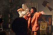 PROJETS HYBRIS<br /> PROPOSITIONS FOR THE AIDS MUSEUM<br />  <br /> Aux &Eacute;curies<br /> Vendredi 17 octobre 2014 20h30<br /> Samedi 18 octobre 2014 20h30<br /> Mise en sc&egrave;ne + stylisme: Philippe Dumaine / dramaturgie + r&eacute;gie: Sophie Devirieux / design sc&eacute;nique: Steeven Pedneault / lumi&egrave;res: Nancy Bussi&egrave;res / projections: Maude Ar&egrave;s / direction de production: Karine Cusson / design graphique: Julien H&eacute;bert / &oelig;il ext&eacute;rieur: Adam Kinner<br /> Avec: Jordan Arseneault, Myl&egrave;ne Bergeron, Mykalle Bielinski, Alex-Ann Boucher, Alexis B Martin, Dani&egrave;le Simon, Joseph Elliott Isra&euml;l Gorman
