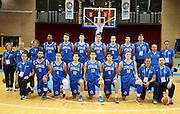 LIGNANO SABBIADORO, 07 LUGLIO 2015<br /> BASKET, EUROPEO MASCHILE UNDER 20<br /> ITALIA-CROAZIA<br /> NELLA FOTO: team<br /> FOTO FIBA EUROPE/CASTORIA