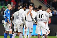 DECEPTION METZ  - 07.03.2015 -  Rennes / Metz -  28eme journee de Ligue 1 <br /> Photo : Vincent Michel / Icon Sport<br /> <br />   *** Local Caption ***