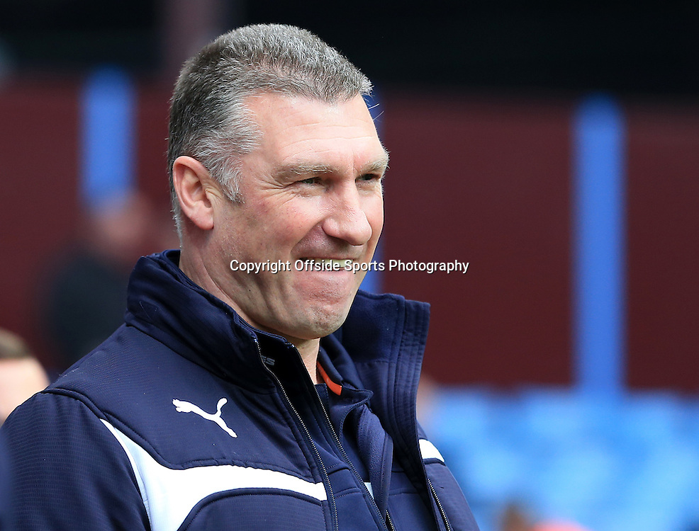 15th February 2015 - FA Cup 5th Round - Aston Villa v Leicester City - Leicester manager Nigel Pearson - Photo: Paul Roberts / Offside.