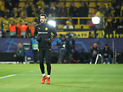 Roman Bürki of Dortmund warms up during  the Champions League round of 16, leg 2 of 2 match between Borussia Dortmund and Tottenham Hotspur at Signal Iduna Park, Dortmund, Germany on 5 March 2019.
