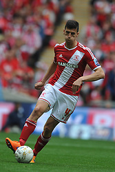 Daniel Ayala, Middlesbrough, Middlesbrough v Norwich, Sky Bet Championship, Play Off Final, Wembley Stadium, Monday  25th May 2015
