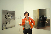 Venice Art Biennale 1999. Self-portrait by Swedish artist Annika von Hausswolff / Biennale Arte di Venezia 1999. Autoritratto dell'artista svedese Annika von Hausswolff - © Marcello Mencarini