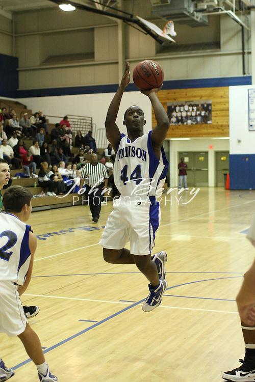 MCHS JV Boys Basketball .vs William Monroe .12/16/09