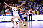 LIGNANO SABBIADORO, 14 LUGLIO 2015<br /> BASKET, EUROPEO MASCHILE UNDER 20<br /> ITALIA-LETTONIA<br /> NELLA FOTO: Alessandro Cappelletti<br /> FOTO FIBA EUROPE/CASTORIA