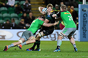 during the Gallagher Premiership Rugby match between Northampton Saints and Harlequins at Franklins Gardens, Northampton, United Kingdom on 1 November 2019.