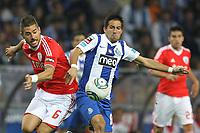 20110923: PORTO, PORTUGAL – FC Porto vs SL Benfica: Portuguese League 2011/2012. In photo: Javi Garcia and Joao Moutinho . PHOTO: Ricardo Estudante/CITYFILES