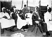 Nubians gather at a wedding celebration (1959)
