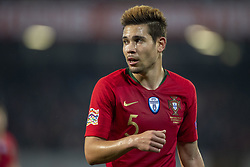 November 20, 2018 - Guimaraes, Portugal - Raphael Guerreiro of Portugal during the UEFA Nations League A Group 3 match between Portugal and Poland at Estadio D. Afonso Henriques in Guimaraes, Portugal on November 20, 2018  (Credit Image: © Andrew Surma/NurPhoto via ZUMA Press)