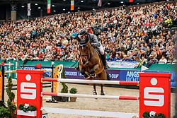 MCMAHON Eoin (IRL), Chacon 2<br /> Leipzig - Partner Pferd 2020<br /> Longines FEI Jumping World Cup™ presented by Sparkasse<br /> Sparkassen Cup - Großer Preis von Leipzig FEI Jumping World Cup™ Wertungsprüfung <br /> Springprüfung mit Stechen, international<br /> Höhe: 1.55 m<br /> 19. Januar 2020<br /> © www.sportfotos-lafrentz.de/Stefan Lafrentz