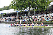 Henley, Great Britain.  Henley Royal Regatta. Princeton Training Center, USA, W8+, pass the Grandstands, on their way to winning the Semi-Final, of the Remenham Challenge Cup. River Thames Henley Reach.  Royal Regatta. River Thames Henley Reach.  Saturday  02/07/2011  [Mandatory Credit  Intersport Images] . HRR