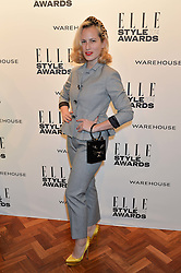 CHARLOTTE DELLAL at the 17th Elle Style Awards 2014 in association with Warehouse held at One Embankment, 8 Victoria Embankment, London on 18th February 2014.
