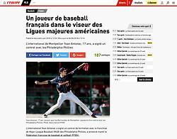Yoan Antonac, l'Equipe.fr, 2018.