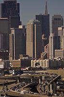 SAN FRANCISCO, CA. AUGUST 2005:  Traffic in San Francisco, California on August 4, 2005.  Photograph  by David Paul Morris