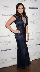 Kelly Brook attends Teens Unite: A Twisted Tale - charity dinner at The Under Globe, Bankside, London on Saturday 22nd November 2014