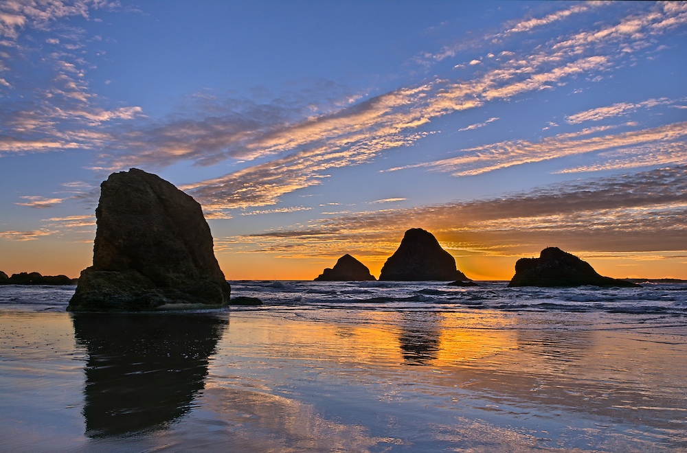 Three Arch Rocks, Oceanside, Oregon.