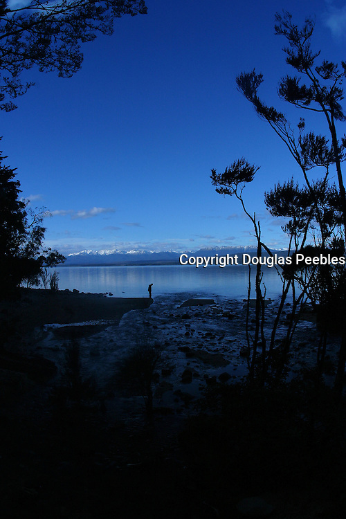 Lake Te Anau, South Island, New Zealand<br />