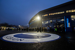 Brighton & Hove Albion fans begin to arrive for the match - Mandatory by-line: Jason Brown/JMP - 10/03/2017 - FOOTBALL - Amex Stadium - Brighton, England - Brighton and Hove Albion v Derby County - Sky Bet Championship
