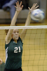 Illinois Wesleyan Titans Women's Volleyball Photos