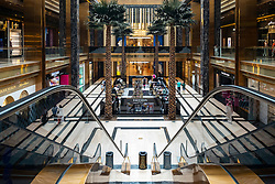 View of the Prestige mall inside The Avenues shopping mall in Kuwait City, Kuwait.