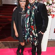 NLD/Amsterdam/20131111 - Beau Monde Awards 2013, Shary- An Nivillac en Marvin Verwijk