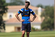 Forest Green Rovers Christian Doidge(9) during the Forest Green Rovers Training session at Browns Sport and Leisure Club, Vilamoura, Portugal on 25 July 2017. Photo by Shane Healey.