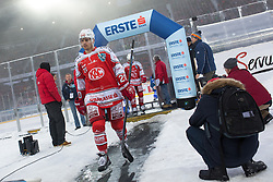 03.01.2015, Klagenfurter Wörthersee Stadion, Klagenfurt, AUT, EBEL, EC KAC vs EC VSV, 35. Runde, in picture Marcel Rodman (EC KAC, 20) during the Erste Bank Icehockey League 35. Round between EC KAC and EC VSV at the Klagenfurter Wörthersee Stadion, Klagenfurt, Austria on 2015/01/03. Photo by Matic Klansek Velej / Sportida