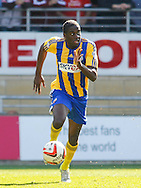 Clayton Donaldson of Brentford during the Sky Bet League 1 match at the Matchroom Stadium, London<br /> Picture by Mark D Fuller/Focus Images Ltd +44 7774 216216<br /> 15/03/2014