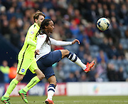 Preston North End Midfielder Daniel Johnson (11) clears during the Sky Bet Championship match between Preston North End and Brighton and Hove Albion at Deepdale, Preston, England on 5 March 2016.