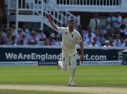 July 7, 2017 - London, United Kingdom - England's Mark Wood .during 1st Investec Test Match between England and South Africa at Lord's Cricket Ground in London on July 07, 2017  (Credit Image: © Kieran Galvin/NurPhoto via ZUMA Press)