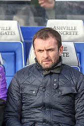 March 9, 2019 - London, England, United Kingdom - Stoke City's manager Nathan Jones during the first half of the Sky Bet Championship match between Queens Park Rangers and Stoke City at Loftus Road Stadium, London on Saturday 9th March 2019. (Credit Image: © Mi News/NurPhoto via ZUMA Press)
