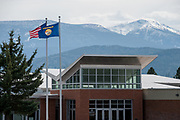 Exterior of Big Sky High School on May 2, 2014, where Diren Dede, the 17-year-old German exchange student who was shot and killed by a neighbor attended school.
