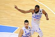 Danny Agbelese<br /> Enel New Basket Brindisi - Openjobmetis Pallacanestro Varese<br /> Lega Basket Serie A 2016/2017<br /> Brindisi 12/02/2017<br /> Foto Ciamillo-Castoria