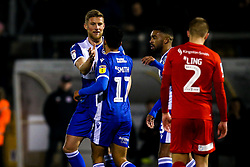 Alfie Kilgour of Bristol Rovers celebrates with teammates after scoring a goal to make it 1-0 - Mandatory by-line: Robbie Stephenson/JMP - 04/12/2019 - FOOTBALL - Memorial Stadium - Bristol, England - Bristol Rovers v Leyton Orient - Leasing.com Trophy