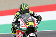 #35 Cal Crutchlow, British: LCR Honda Castrol Honda during Friday Practice at the MotoGP Gran Premio d'Italia Oakley at Autodromo del Mugello Circuit, Senni-San Carlo, Italy on 1 June 2018. Picture by Graham Holt.
