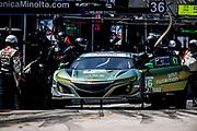 March 15-17, 2018: Mobil 1 Sebring 12 hour. 36 CJ Wilson Racing, Marc Miller, Till Bechtolsheimer, Kuno Wittmer, Acura NSX