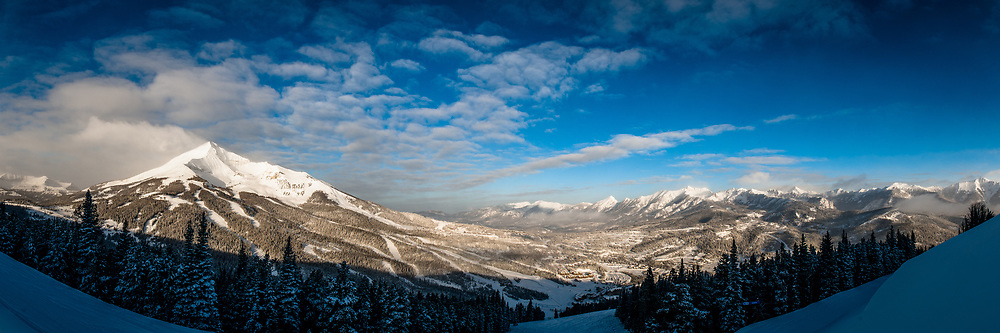 A beautiful morning in Big Sky, Montana.  Limited Edition - 150