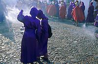 Guatemala. Antigua. Procession de la semaine sainte. // Guatemala. Antigua. Holly week procession. Easter.