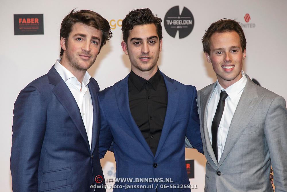 NLD/Amsterdam/20150302 - Uitreiking TV Beelden 2015,........ Jasper Gottlieb en Marius Gottlieb