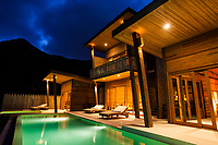 A luxury villa at the Six Senses Con Dao in southern Vietnam.