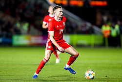 Ryan Hedges of Wales - Mandatory by-line: Robbie Stephenson/JMP - 20/03/2019 - FOOTBALL - The Racecourse Ground - Wrexham, United Kingdom - Wales v Trinidad and Tobago - International Challenge Match