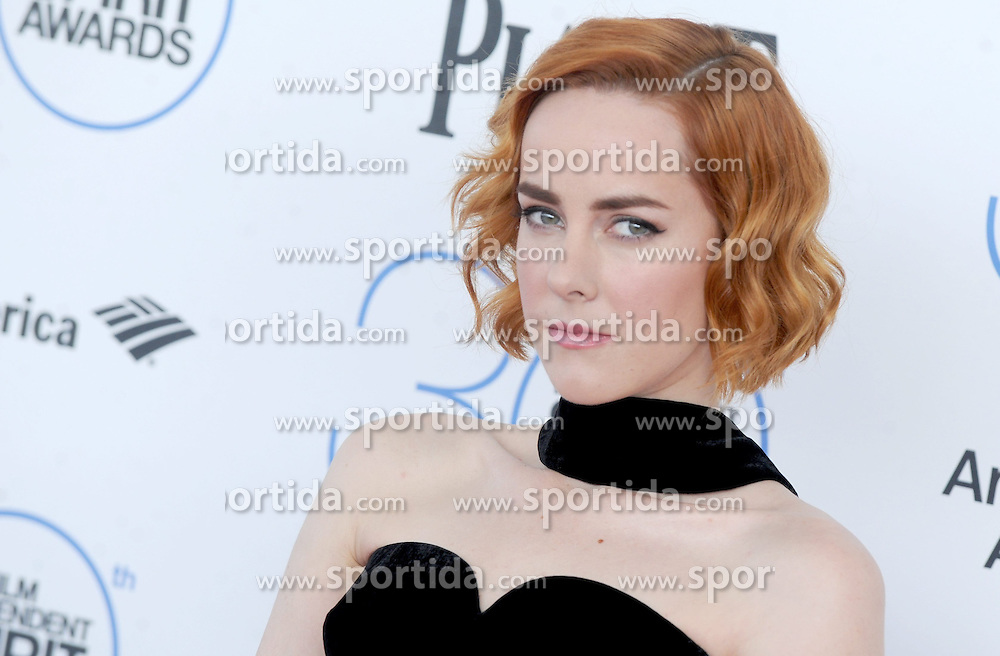 at the 30th Film Independent Spirit Awards 2015 - Arrivals 1, Santa Monica Beach, Santa Monica, CA February 21, 2015. EXPA Pictures &copy; 2015, PhotoCredit: EXPA/ Photoshot/ Dennis Van Tine<br /> <br /> *****ATTENTION - for AUT, SLO, CRO, SRB, BIH, MAZ only*****