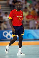 20080814 Olympics Beijing 2008, Håndbold for herrer Spanien-Kina.