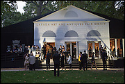 The preview of LAPADA Art and Antiques Fair. Berkeley Sq. London. 23 September 2014.