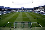 Loftus Road Stadium before the Sky Bet Championship match between Queens Park Rangers and Charlton Athletic at the Loftus Road Stadium, London, England on 9 April 2016. Photo by Andy Walter.